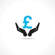 save pound concept