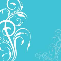 creative floral design background stock vector