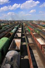 Железнодорожные грузовые составы