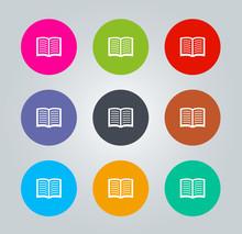 Livre - Metro Icons clair circulaires