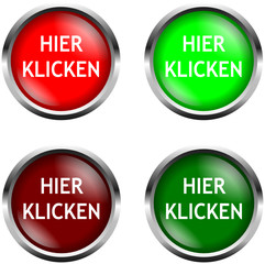 Hier Klicken Button Set