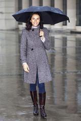 Im Regen spazieren