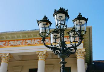 Laternen vor dem Kurhaus Baden-Baden