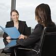 Beratungsgespräch bei Versicherung