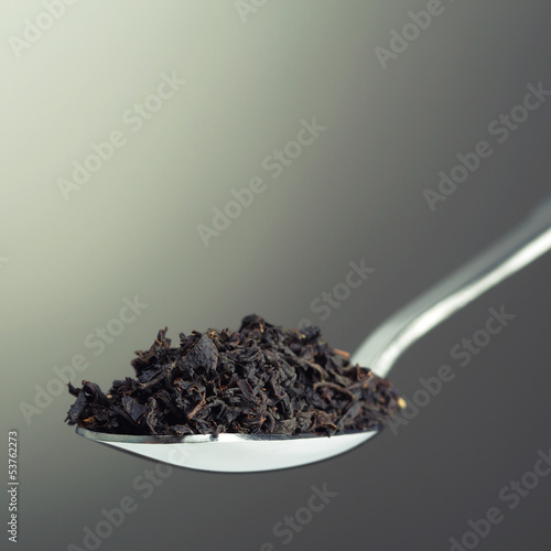 Spoon full of tea