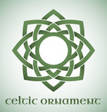 Celtic ornament with gradients