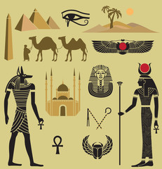 Egypt Symbols and Landmarks