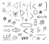 Miscellaneous Doodle Symbols, Signs, Icons and Keystrokes