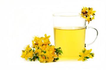 Johanniskraut-Tee, Saint John's wort tea