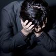 Businessmann mit Depression