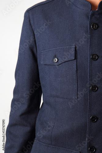 giacca blu