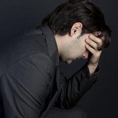 Mann enttäuscht