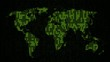 Binary Code - World Map (I)