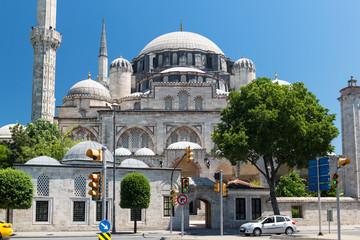 The Sehzade Mosque in Istanbul