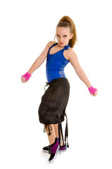 Fierce HipHop DancerGirl