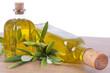 aceite de oliva extra y aceitunas