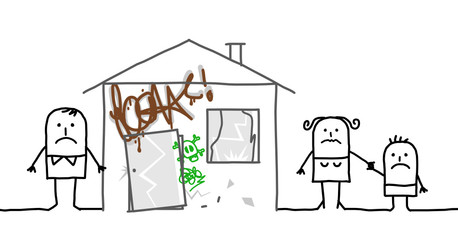 family & unsafe home