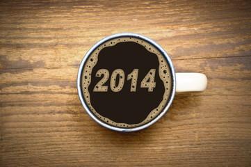 2014 im Kaffeeschaum