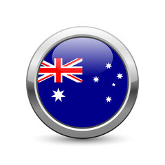 Australian flag icon web button