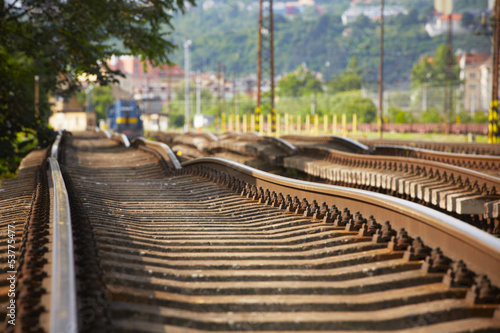 Replacement of railroad track
