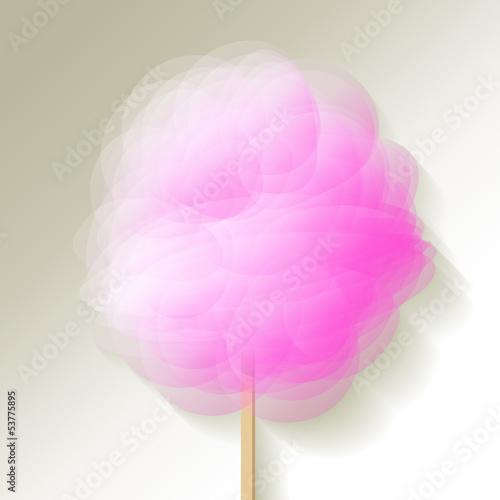 Zuckerwatte Rosa
