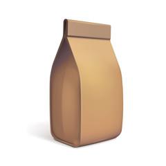 Paper Bag Package Of Coffee, Salt