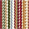 Colorful Zigzag Stripe Pattern