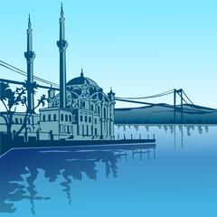 Ortaköy  Camii ( ISTANBUL )  versiyon 2