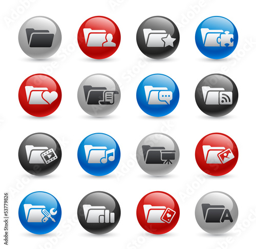 Folder Icons - Set 2 -- Gel Pro Series