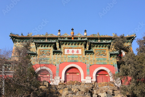 architecture of Summer Palace, China