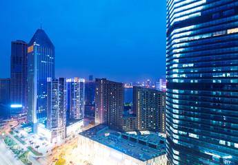 Bird view at Shanghai China