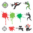 Paintball_icons_design_elements - 53782847