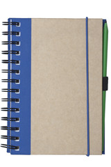 notebook made of recycled paper