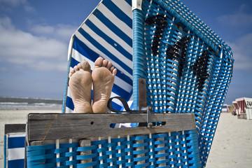 strandkorb,füße