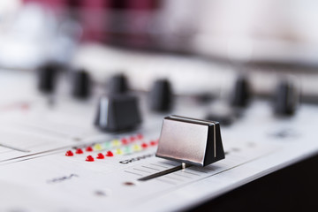 Professional sound mixing controller