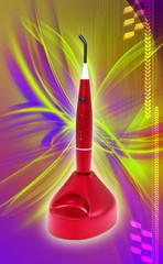Dental Ultraviolet Curing Light Tool