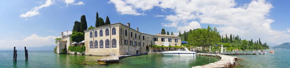 Punta san Vigilio, Villa, Gardasee, Italien, Garda