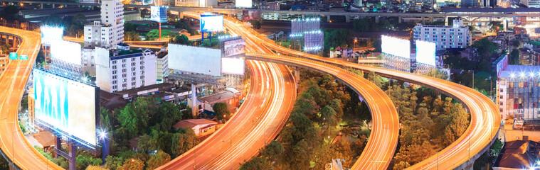 Panorama Bangkok Highway