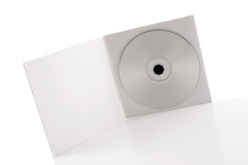 White CD Package