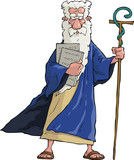 Cartoon Moses