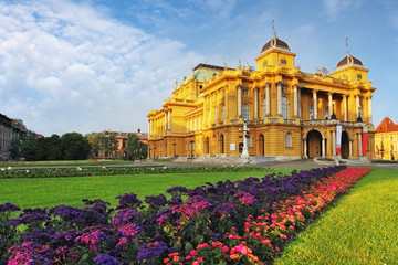 Zagreb, Croatian National Theater