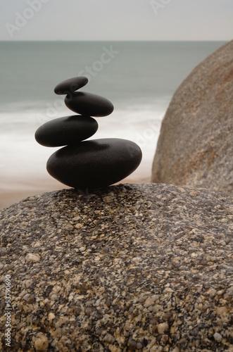 Fototapeten,zengarten,steinskulptur,balance,gleichgewicht