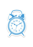 Vector desktop clock icon