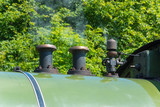 Steam train engine regulator