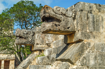 Maya Decoration - Chichen Itza