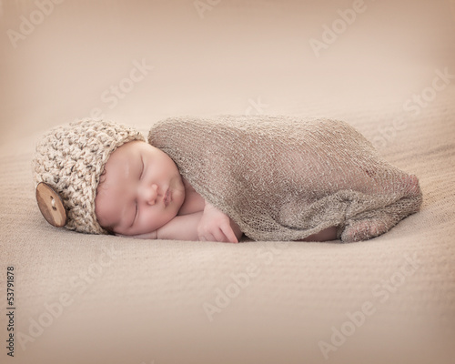 Newborn with Beany