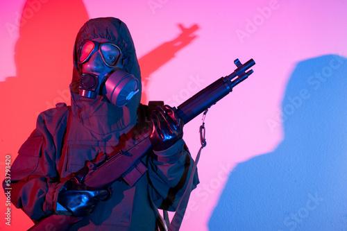 Chemical warfare fear