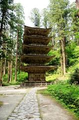 出羽神社 五重塔