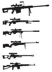 sniper rifle set