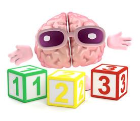 Brain loves math